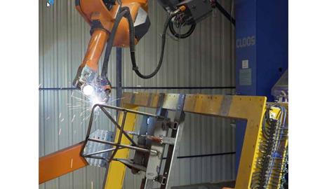 机器人焊接——舞台、平台