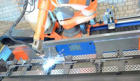 机器人焊接——护栏、栏杆