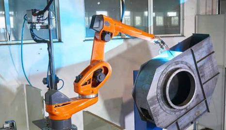 机器人焊接——风机