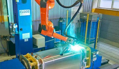 机器人焊接——油箱
